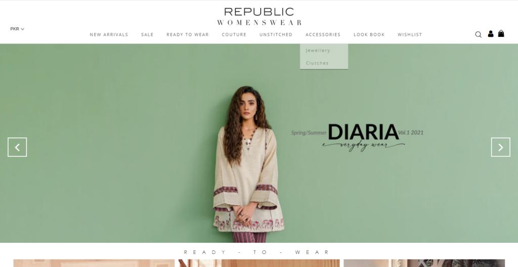 Pakistani Lawn Suits | Republic Womenswear