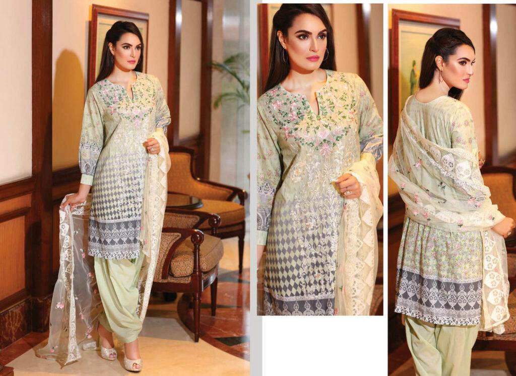 Pakistani Lawn Suits | Nadia Hussain